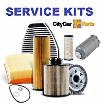 ALFA ROMEO 147 1.6i, 2.0i T/SPARK 2001 TO 09 OIL AIR  & CABIN FILTER SERVICE KIT